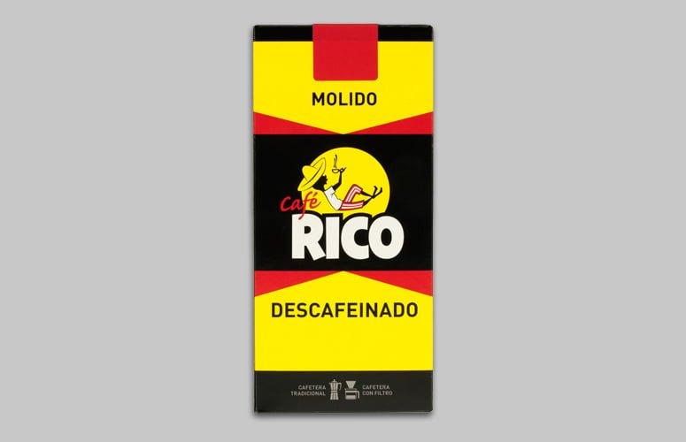 Cafe Rico Molido Descaf 250gr