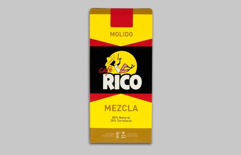 Cafe Rico Molido Mezcla 250gr