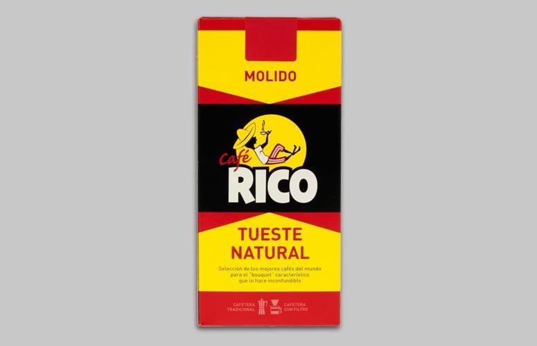 Cafe Rico Molido TuestNat 250gr