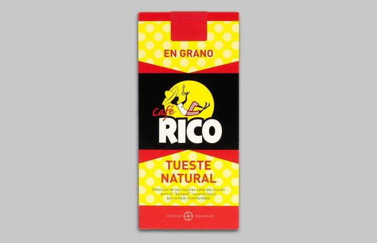 Cafe Rico en Grano TuestNat 250gr