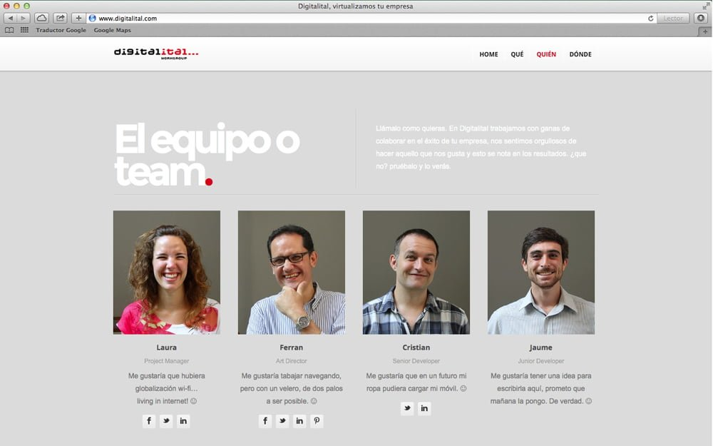 Web Digitalital