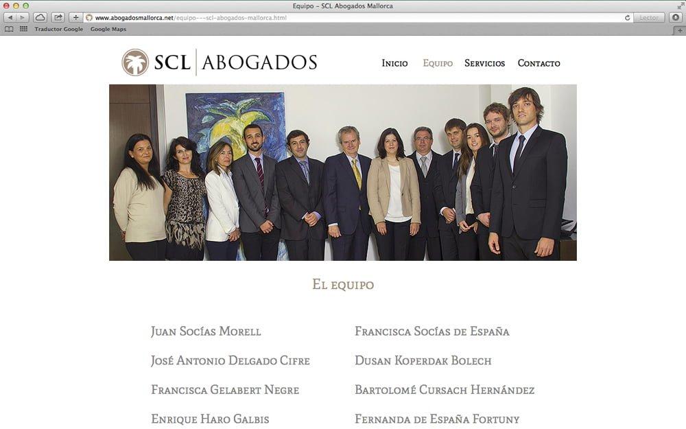 Web SCL Abogados