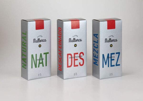 Cafes Mallorca Packaging